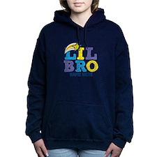 Custom Add Name Lil Bro Hooded Sweatshirt
