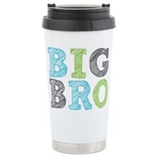 Sketch Style Big Bro Travel Mug