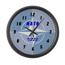 Funny Rcaf Large Wall Clock
