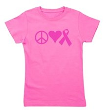 Support The Cure Girl's Tee