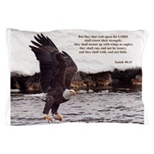 ISAIAH 40:31 WINGED EAGLES Pillow Case