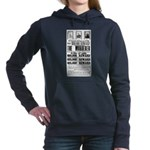 Wanted John Wilkes Booth Hooded Sweatshirt