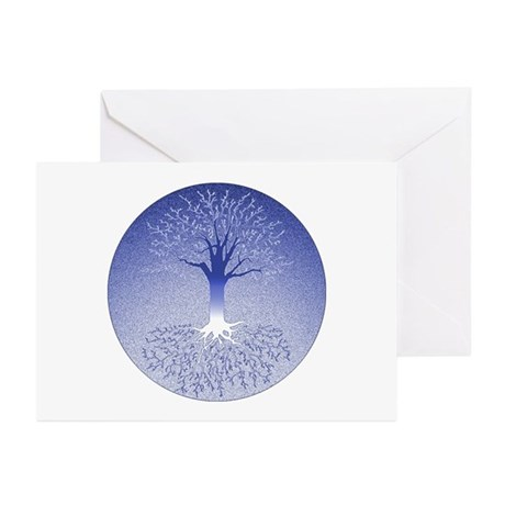 Winterblue Greeting Cards (pk Of 10)