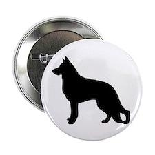 "german shepherd 2 2.25"" Button (100 pack)"
