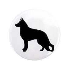 "german shepherd 2 3.5"" Button (100 pack)"
