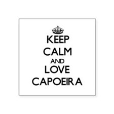 Keep calm and love Capoeira Sticker