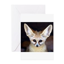 Cute Fox head Greeting Card