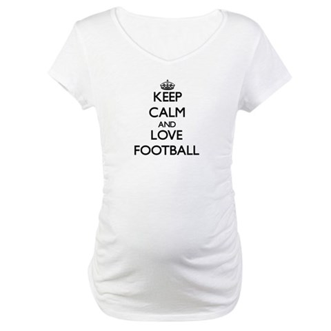 Keep calm and love Football Shirt
