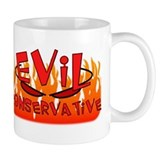 Evil Consevative To Do List Wrap Around Mug