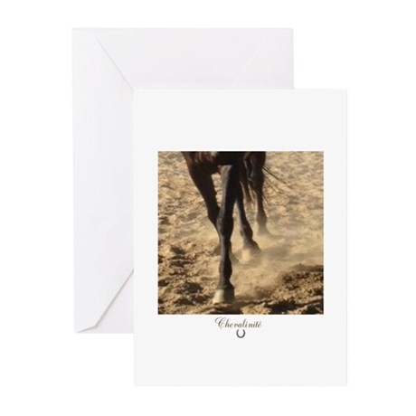 Horse Theme Design #5900 Greeting Cards (Pk of 10)
