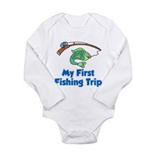 My First Fishing Trip Body Suit