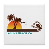 Laguna Beach Tile Coaster