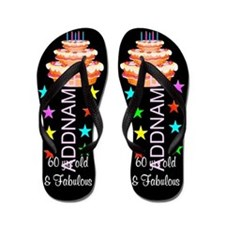 Awesome 60th Flip Flops