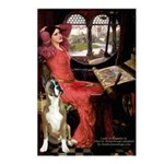 Lady & Boxer Postcards (Package of 8)