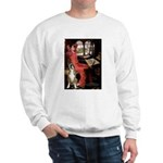 Lady & Boxer Sweatshirt