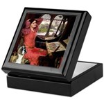 Lady & Boxer Keepsake Box