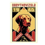 Vizsla 1960 Postcards (Package of 8)