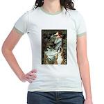 Ophelia & Boxer Jr. Ringer T-Shirt