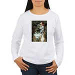 Ophelia & Boxer Women's Long Sleeve T-Shirt