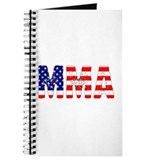 MMA USA Flag Journal