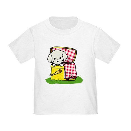 Puppy Picnic Toddler T-Shirt