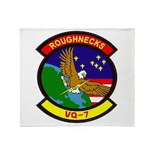 VQ 7 Roughnecks Throw Blanket