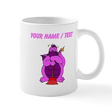 Custom Pink Plumber Dragon Mugs