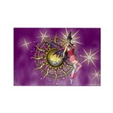 Purple Passion Fairy Rectangle Magnet (10 pack)
