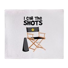 I Call the Shots Throw Blanket