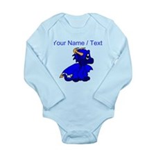 Custom Blue Baby Dragon Body Suit