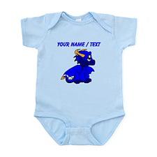 Custom Blue Baby Dragon Body Suit