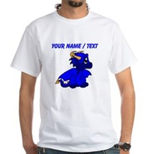 Custom Blue Baby Dragon T-Shirt