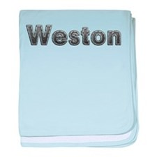 Weston Metal baby blanket