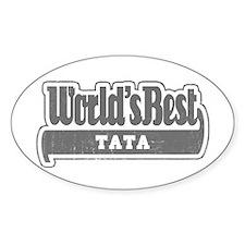 WB Grandpa [Telugu] Oval Decal