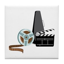 Hollywood Film Movie Tile Coaster