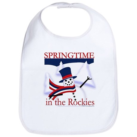 Springtime in the Rockies Bib