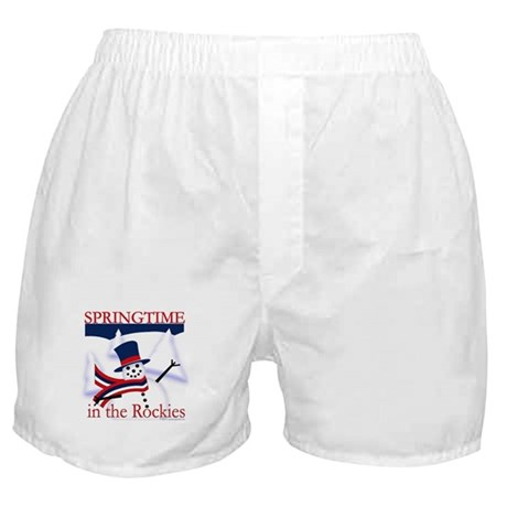 Springtime in the Rockies Boxer Shorts
