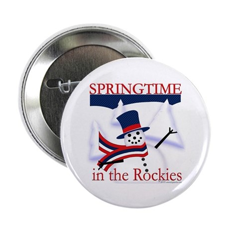 "Springtime in the Rockies 2.25"" Button (100 pack)"