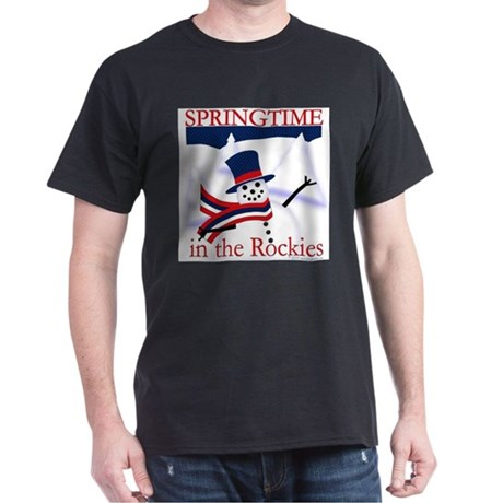 Springtime in the Rockies Dark T-Shirt