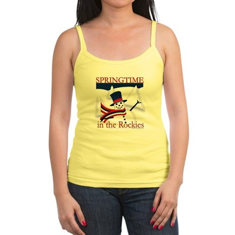 Springtime in the Rockies Jr. Spaghetti Tank