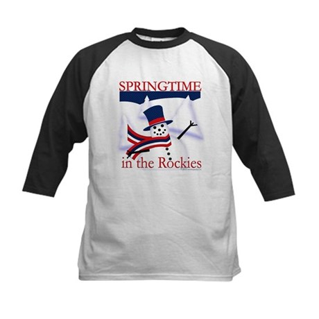 Springtime in the Rockies Kids Baseball Jersey