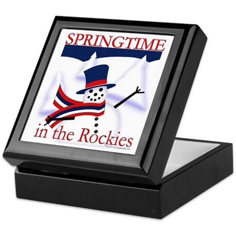 Springtime in the Rockies Keepsake Box