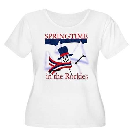 Springtime in the Rockies Women's Plus Size Scoop