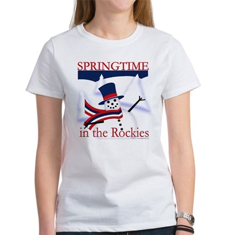 Springtime in the Rockies Women's T-Shirt