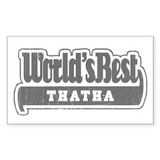 WB Grandpa [Tamil] Rectangle Decal