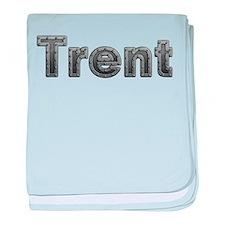 Trent Metal baby blanket