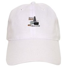 Life is a Movie Direct it Well Baseball Baseball Cap