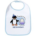 Big Brother to be (Penguin) Bib