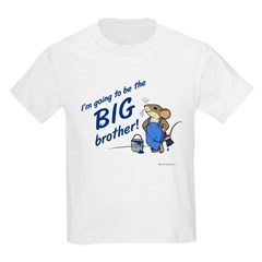 Big Brother to be Kids T-Shirt (Mouse)