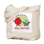 Big Sister to be (Strawberry) Tote Bag
